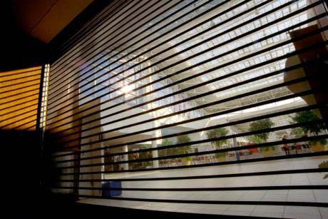 perforated rolling shutter width=