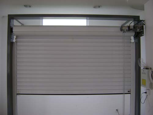 puf insulated rolling shutter